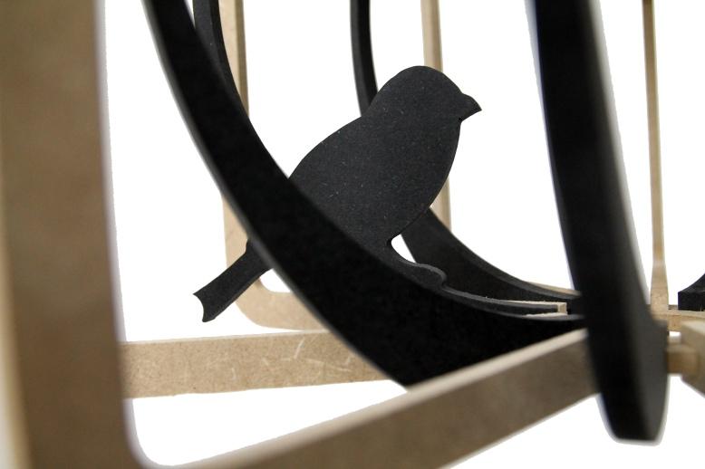 Cage aux oiseaux d+®tail